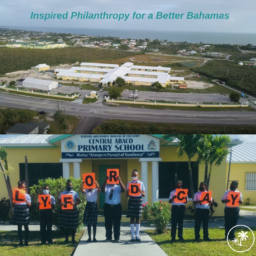 Abaco Students Thank Lyford Cay Foundations for Helping Rebuild Central Abaco Primary School